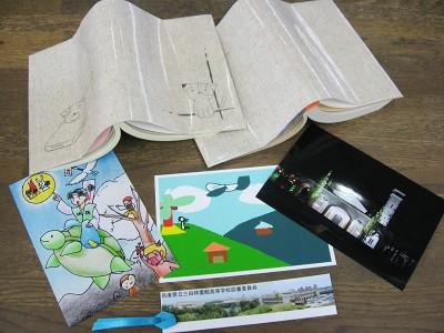 2011読書マラソン記念品.JPG